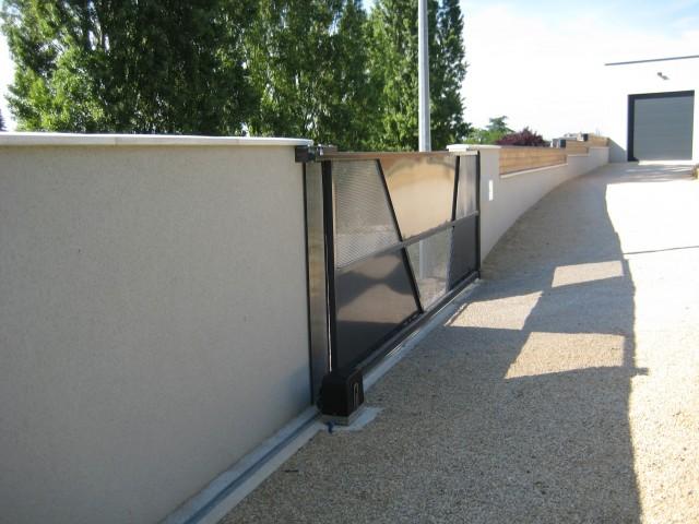 Installation portail électrique